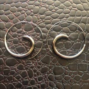 Spiral Metal Earrings Express